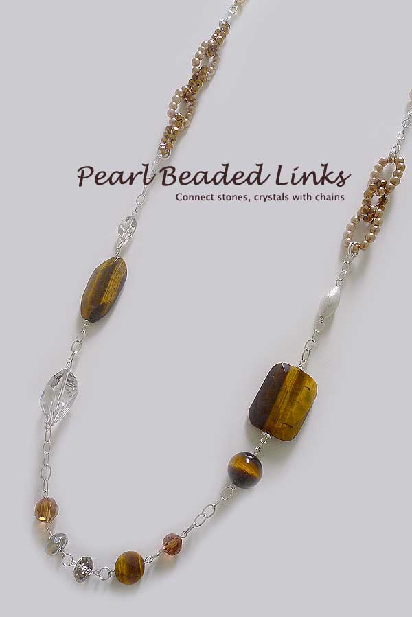 Pearl Beaded Links