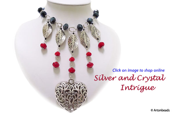 Silver and Crystal Intrigue