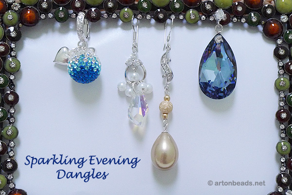 Sparkling Evening Dangles