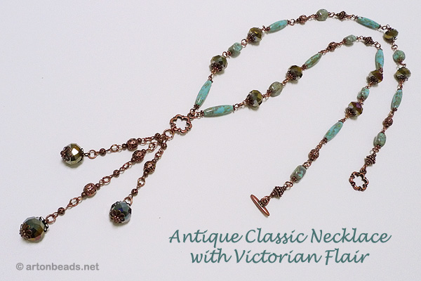 Antique Classic Necklace with Victorian Flair