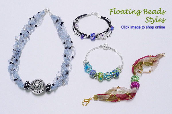 Floating Beads Styles