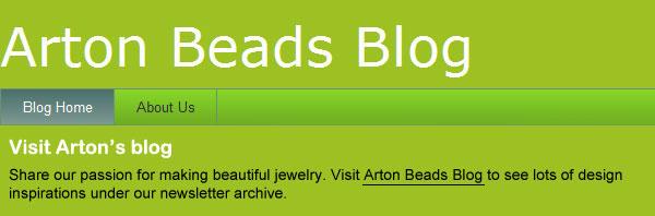 Artonbeads blog