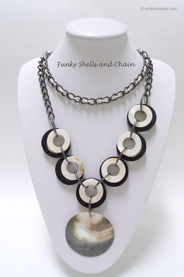 Funky shells and chain
