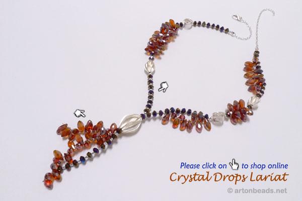 Crystal Drops Lariat
