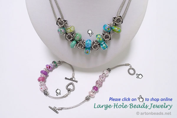 Large Hole Beads Jewelry