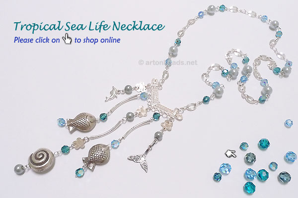 Tropical Sea Life Necklace