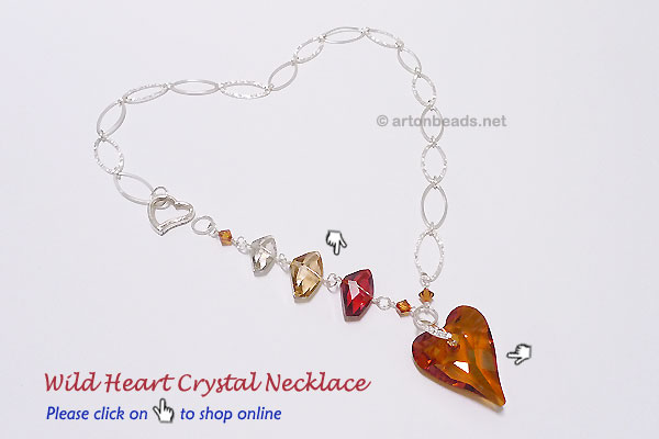 Wild Heart Crystal Necklace
