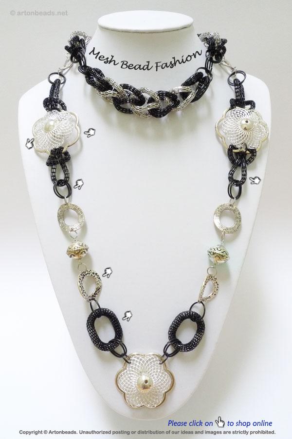 Mesh Bead Fashion