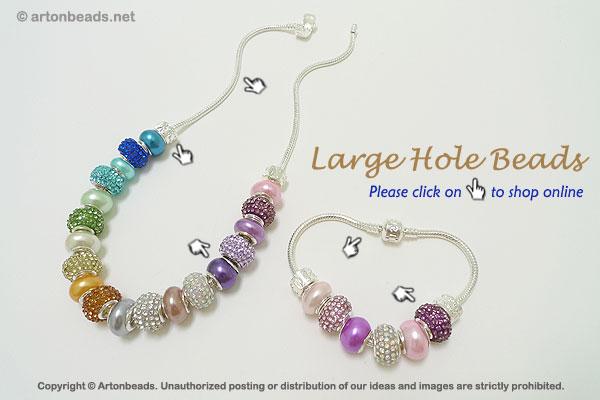 Large-Hole Beads