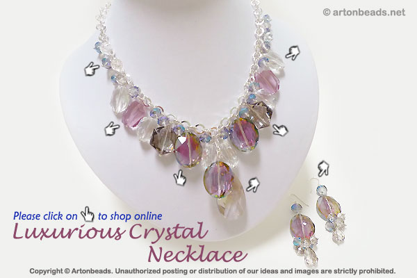 Luxurious Crystal Necklace
