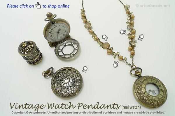 Vintage Watch Pendants