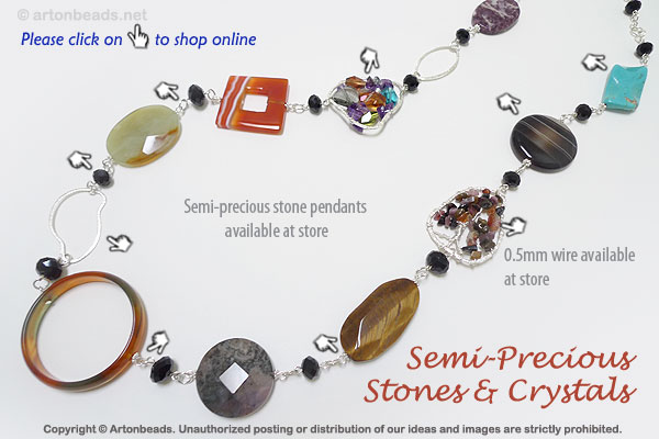 Semi-Precious Stones and Crystals