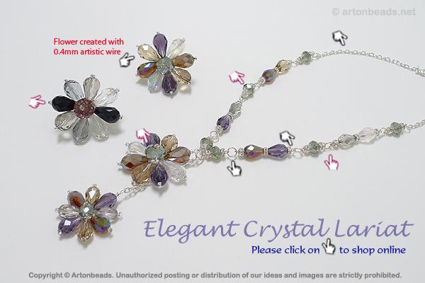Elegant Crystal Lariat