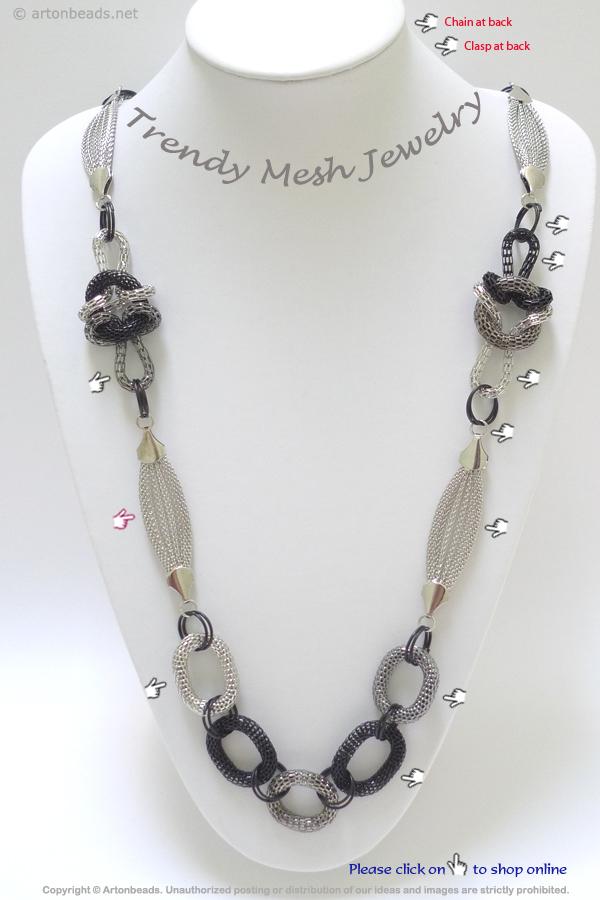 Trendy Mesh Jewelry