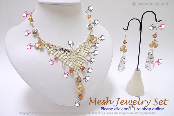 Mesh Jewelry Set