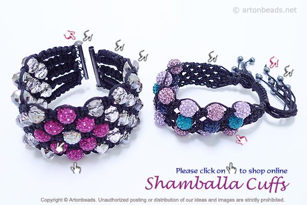 Shamballa Cuffs