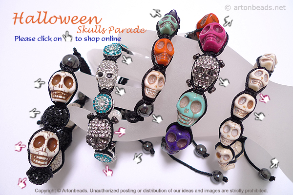 Halloween Skulls Parade