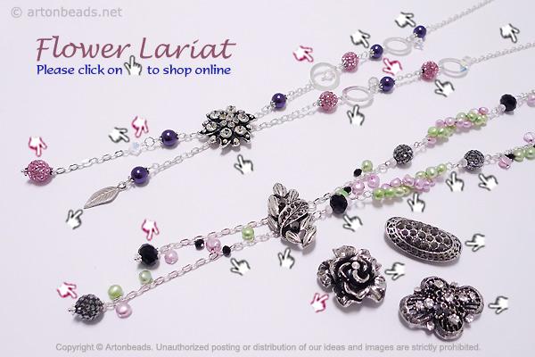 Flower Lariat