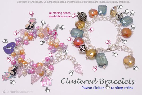 Clustered Bracelets