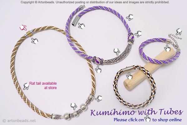 Kumihimo with Tubes