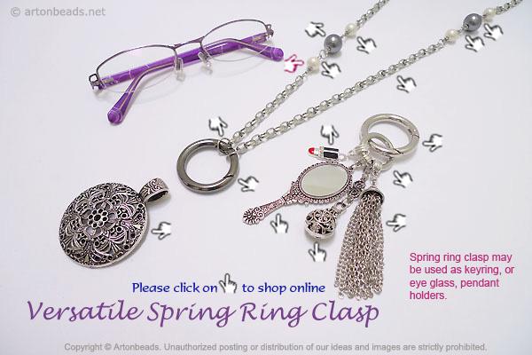 Versatile Spring Ring Clasp