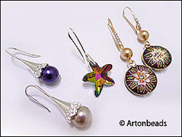 New Earring Hooks with Bail