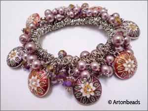 Bungee Bracelet with Closonne