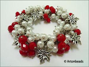 Canada Day Bracelet