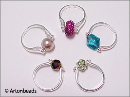 Interchangeable bead ring