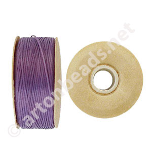 Nymo - Light Purple - Size B - 66m - 2pcs