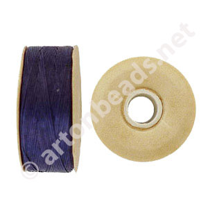 Nymo - Purple - Size B - 66m - 2pcs