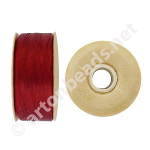 Nymo - Red - Size D - 59m - 2pcs