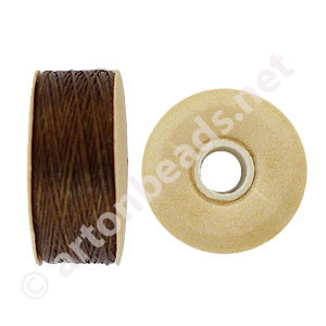 Nymo - Brown - Size D - 59m - 2pcs