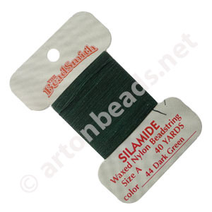 Silamide - Dark Green - Size A - 40yds