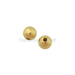 14K Gold Filled Beads - 4mm - 6pcs