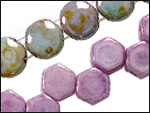 2-hole Glass Beads