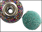 Micro Glass Ball Paved Beads