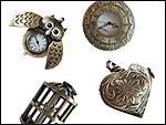 Vintage Watch Pendants