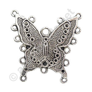 Casting Charm - Butterfly - 40x40mm - 3pcs