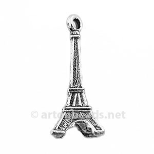 Casting Charm - Travel - 28.8x11.4mm - 5pcs
