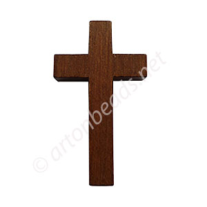 Wooden-L Cross(Middle Brown)