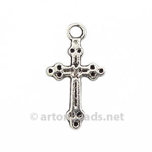 Metal Cross - Antique Silver Plated