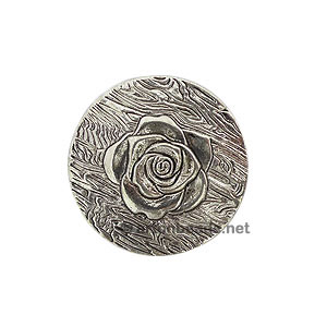 Casting Charm - Flower - 40mm - 1pc