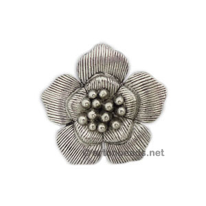Casting Charm - Flower - 42mm - 1pc