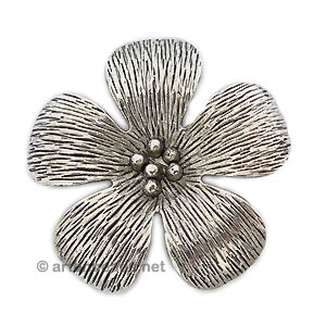 Casting Charm - Flower - 54mm - 1pc