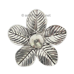 Casting Charm - Flower - 52mm - 1pc