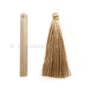 Satin Tassel - Silk Pearlized - 65mm - 4pcs