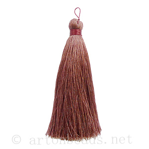 *Satin Tassel - Antique Pink - 110mm - 1pc