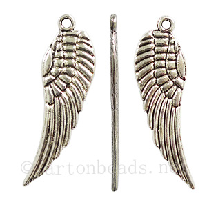 Casting Charm - Wings - 9x30mm - 10pcs
