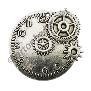 Casting Charm - Watch - 43x48mm - 1pc